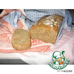 Рецепт: Пшенично-ржаной хлеб на пиве