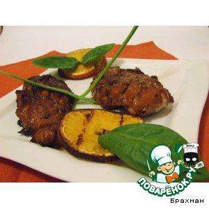Рецепт: Куриное филе в соусе терияки