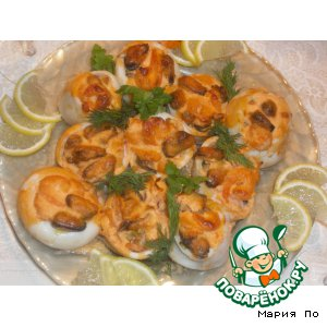 Squid stuffed with