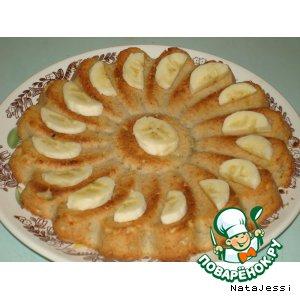 Быстрый банановый пирог без яиц – кулинарный рецепт