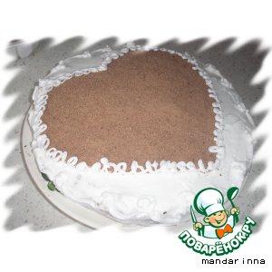 Рецепт: Торт к Дню Св. Валентина
