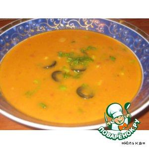 Рецепт: Суп из фасоли по-испански