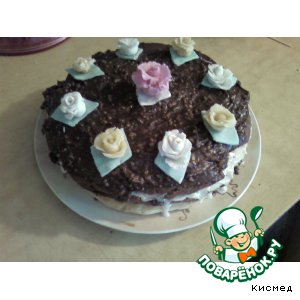 "Рецепт: Торт ""Вечерняя фантазия"""