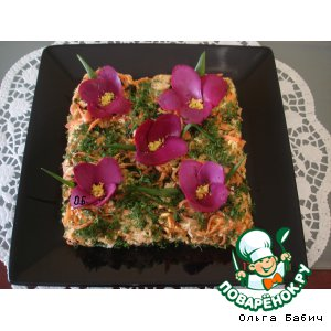 """Рецепт: Салат """"Морковный"""""""