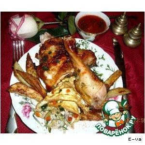 Рецепт: Ужин Мужнина радость