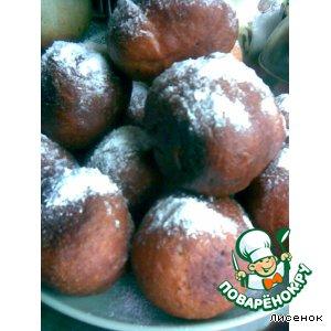 Рецепт: Тыквенные пончики