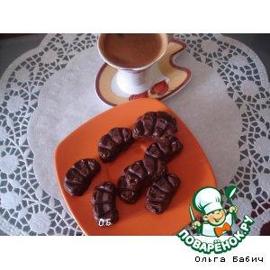 Рецепт: Шоколадные конфеты с начинкой