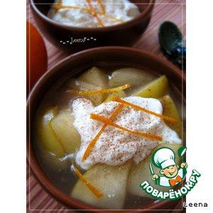 Рецепт: Яблочный суп