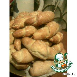 Рецепт: Картофельные рогалики
