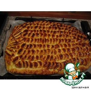 """Пирог """"Ананас"""" – кулинарный рецепт"""