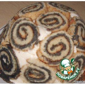 """Рецепт: Торт """"Черепашка"""""""