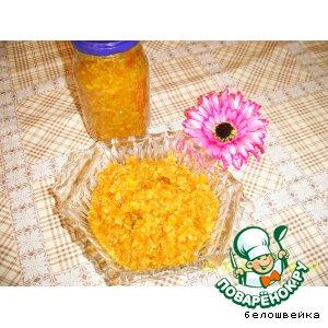 Рецепт: Варенье из апельсиновых корок Экзотика