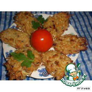 Рецепт: Котлетки из вермишели с грибами