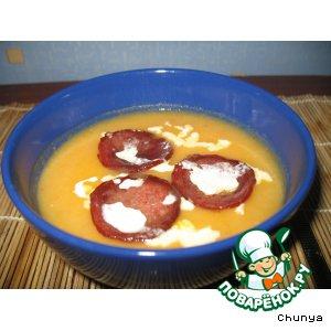 Рецепт: Обычный суп с интересным дополнением