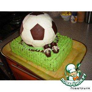 Рецепт: Зеленый тортик