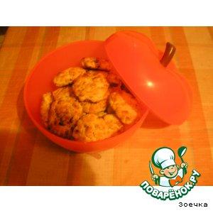 Рецепт: Печенье овсяное