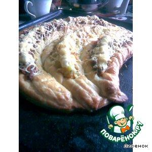 """Рецепт: Закусочный пирог """"Ракушка"""""""