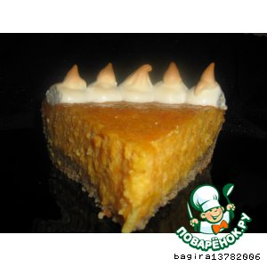 Рецепт: Тыквенный пирог