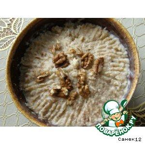 Рецепт: Яблочно-ореховый салат-паштет