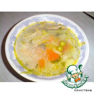 Рецепт: Испанский суп