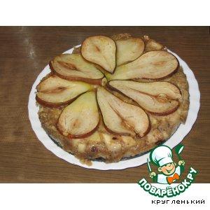 Рецепт: Грушeвый пирог