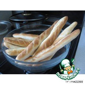 Рецепт: Хлебные палочки