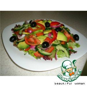 Рецепт: Салат Само совершенство