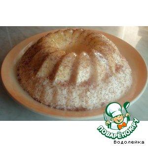 Десерт из заварного крема Лисенок