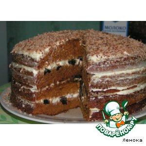 """Рецепт: Торт """"Чудо"""""""