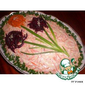 Рецепт: Салат Дубок