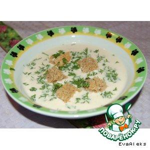 Рецепт: Миндальный суп