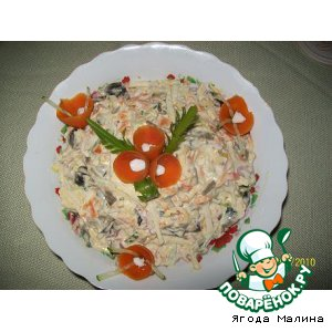 Рецепт: Салат Фантазия