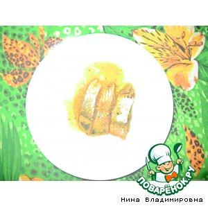 Рецепт: Селедка в горчичном соусе