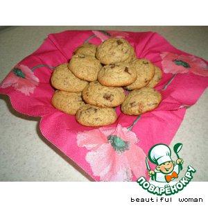 Рецепт: Печенье Волшебное капуччино