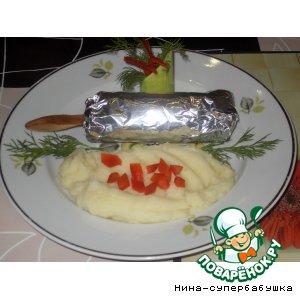 Рецепт: Свинина Эскимо на палочке