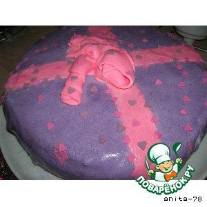 Рецепт: Торт-подарок