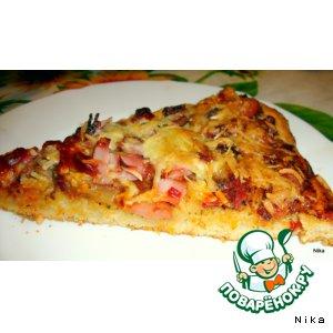 "Рецепт: Пицца   ""Острая"""