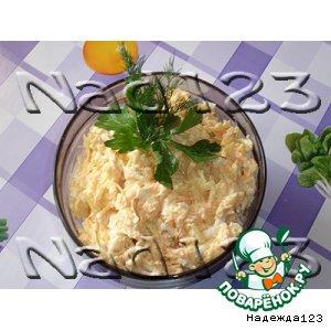 Рецепт: Салат «Обжорочка»