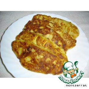 Рецепт: Пирожки картофельные с капустой Картопляники