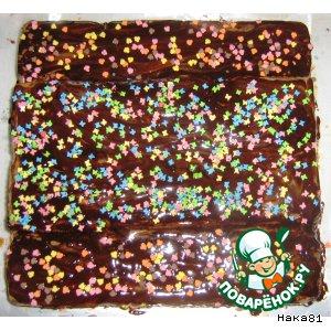 Рецепт: Торт из печенья