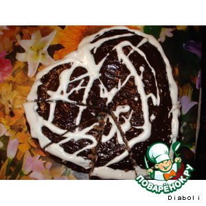 "Рецепт: Кекс ""Шоколадное сердце"""