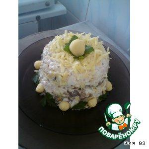 Рецепт: Салат-торт