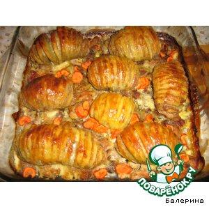 Рецепт: Картошечка Гармошечка