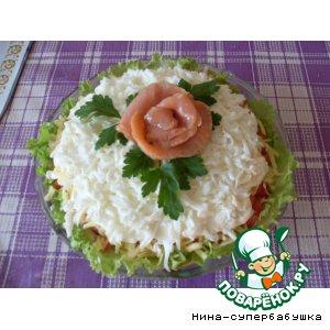 Рецепт: Салат Флагман