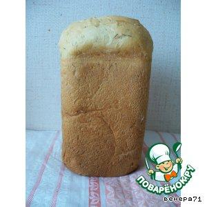 Рецепт: Хлеб с укропом и сыром