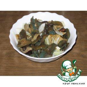 Рецепт: Солeные грибы по-алтайски