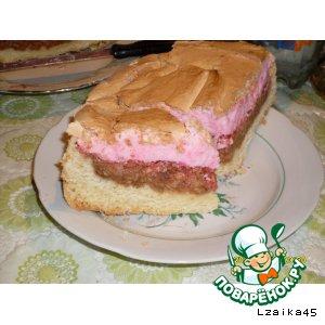 Яблочно-кисельный пирог