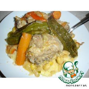 Рецепт: Бил меслен, кус-кус по-тунисски
