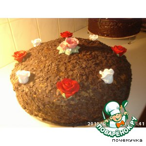 """Рецепт: Торт """"Тамила"""""""