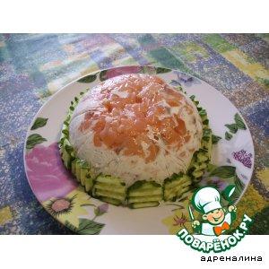 Рецепт: Сливочный паштет с лососем